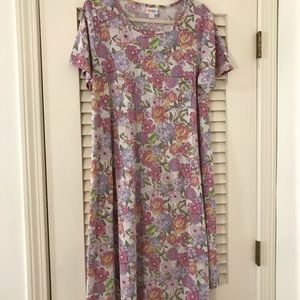 Light fabric, floral print Carly!